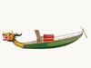 fiberglass material racing dragon boat/ carbon fiber dragon paddle