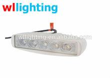 18W 6inch Slim LED Work offroad Light Spot Beam Fog driving 4WD ATV Car Boat Van
