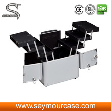 Aluminum Professional Makeup Cases Trolley