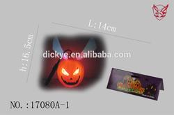Led Plastic pumpkin lamp/double face pumpkin