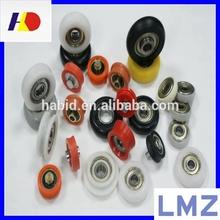 Shower Door Wheels,Plastic Pulleys Small Plastic Roller ,Nylon Roller Wheel with Bearing