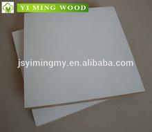 Shuyang fábrica de matéria plain mdf board / mdf melamina para o mercado do oriente médio