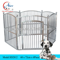 Factory supplier pet cage playpen for puppies dog