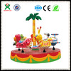 Funny and cool animals theme carousel ride musical carousel electrical carousel made in china QX-129C