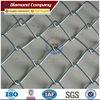Galvanized diamond mesh chain link mesh fence& chain link fence diamond mesh&pvc chain link wire mesh fence