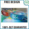 Free design Japan quality standard led flashing silicone rubber bracelet