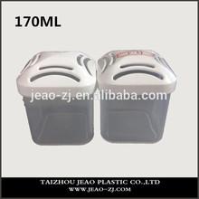 Venta al por mayor para el vacío de plástico 170 ml contenedor, Caja de almacenamiento, Pp decorar botellas