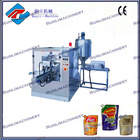 automatic machinery paste filling and sealing packaging