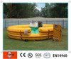 hot high qulaity China Yellow Color inflatable bull riding machine