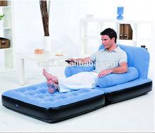 Inflatable sofa / sofa bed / air mattress-blue
