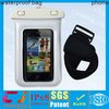 Good quality pvc waterproof sport armband bag for iphone 5 with lanyard