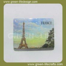 France tourist souvenir Paris fridge magnet