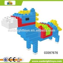 Various educational block puzzle Plastic nano block in China