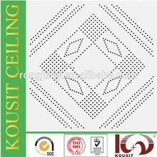 ISO9001:2000 manufacturer metal fireproof lightweight ceiling panel