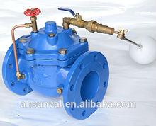 Floating ball pressure control valve, 100X