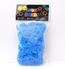 2014 Highly Welcomed Crazy Loom Bands/ Cheap Loom Bands/ New Designs Colorful Diy Silicone Loom Bands