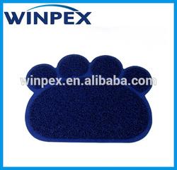 PVC Paw shape Dog mat, Cat mat, Pet food mat