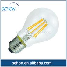 antique edison light bulbs A19 A60 2400K 85Ra led filament lamp/dimmable led filament