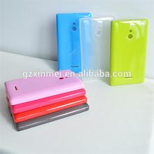 gel case for nokia xl, silicon skin for nokia xl, silicon gel case for nokia xl
