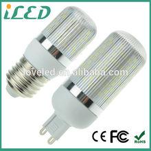 hot sale e27 e14 g9 mini christmas lights corn bulb 5w 220v 230v led 2700k CE RoHS