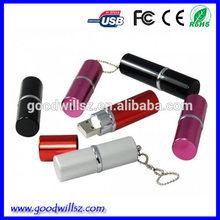 Women's gift lipstick usb flash disk, 4g/8g/16g/32g lipstick usb for girls