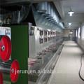 sintético de fibra química máquina de hilar incluyen botella de pet de trituración y limpieza de la línea