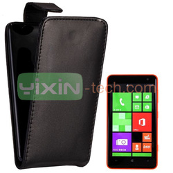 Comfortable Surface Wallet Style Magnetic Top Flip Leather Case for Nokia Lumia 625