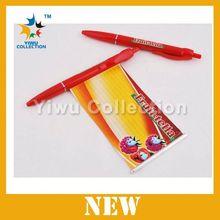 Manufacturer MOQ 100pcs promotional logo banner pen,promotional banner ballpoint pen