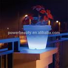 color changing luminous planters flower pot rock