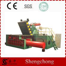 Shengchong Brand Y81-400A Series straw bale press machine automatic horizontal baling press machine