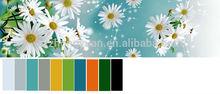 100% polyester 3d design microfiber brushed fabric