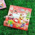 De lujo de la perla de papel hechos a mano tarjetas de felicitación artesanía