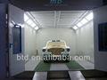 Allemagne tech utilisés équipement de garage vendre./voiture peinture chambre/gonflables. cabine de pulvérisation
