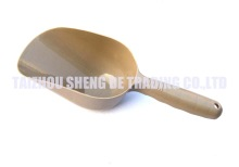 Big plastic pet food scoop