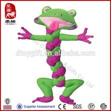 Kong Braidz dog toy soft rope toy for dog frog animal pet stuffed toy
