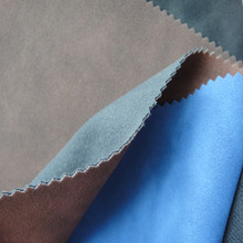 Newest high quality synthetic pu leather to make shoe with jumbuck surface