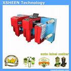 138 adhesive label printing machine, rotary label die cutti