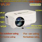 New Design!!!Hot sale model UC30 led hd beamer