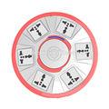 cor rosa saso aprovado adaptador elétrico