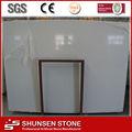 Cultivadas de blanco Artificial de piedra de mármol / Panel de pared / azulejos de suelo