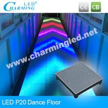 Club/disco/event/hotel/wedding popular high brightness led dance floor