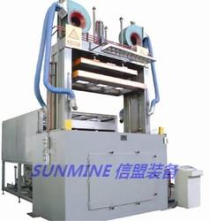 Pneumatic type Refrigerator single station plastic vacuum forming machine liner for doo inner liner