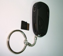 Hgih quality 720p car key camera 808 car keys micro camera