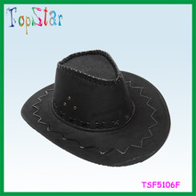 2015 Yiwu Factory Wholesale Brand Top Star Hen Party Cowboy Hat Manufacture