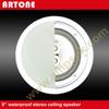 8 inch 3-way Waterproof Stereo Ceiling Speaker for bathroom or outdoor
