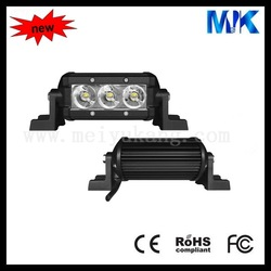 Single row CREE 12V 510lm IP67 cree 9w led light bar for mitsubishi pajero accessories