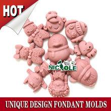 Unique design animal DIY silicone chocolate molds
