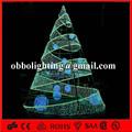 H: 7.5m boule de noël décoration centre commercial atrium feux motif