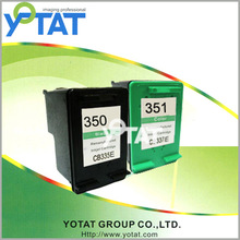 for hp ink cartridge 350 351 350XL 351XL fully filled printer ink cartridges for hp