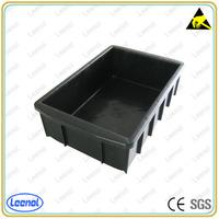 Plastic ESD Box Conductive plastic container